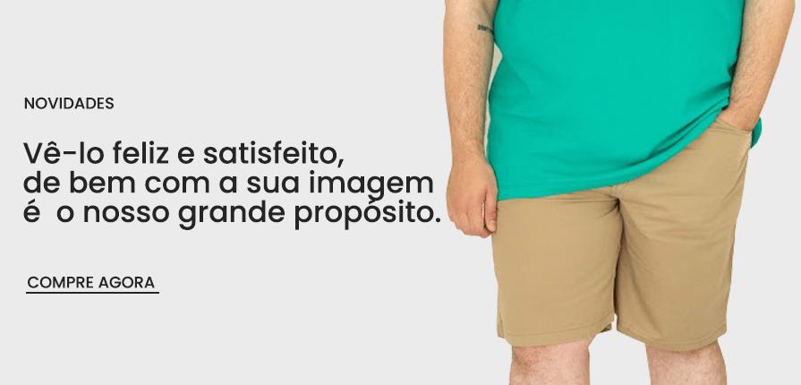 Roupas Plus Size Masculinas Plusman Brasil