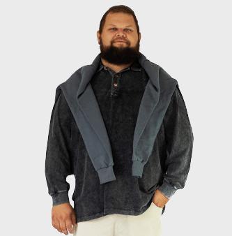 Jaquetas e Casacos Plus Size - Plusman Brasil